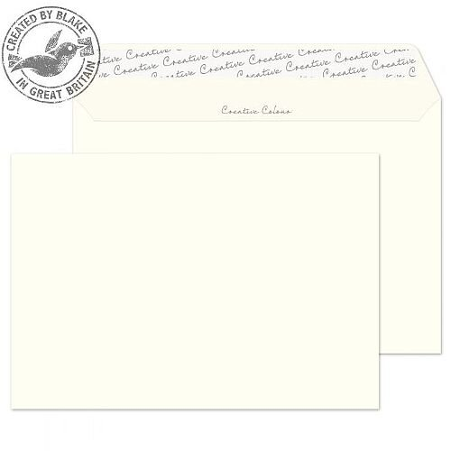 Creative Colour Wallet P& Milk White 120gsm C5 162x229mm (Pack of 500)