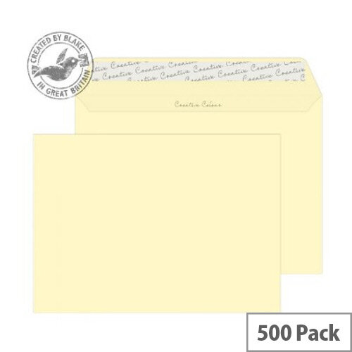 Creative Colour Vanilla Ice Cream C5 Wallet Envelopes (Pack of 500)