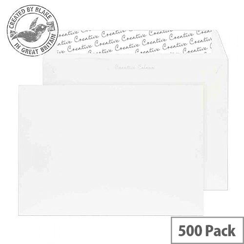Creative Colour Wallet P& Chalk White 120gsm C5 162x229mm (Pack of 500)