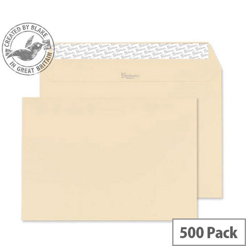 Blake Premium Business Cream Wove C5 Envelopes (Pack of 500)