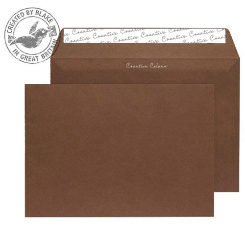 Creative Colour Brown Milk Chocolate Wallet C4 Envelopes (Pack of 250)