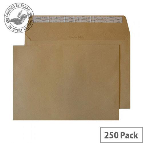 Creative Colour Biscuit Beige Wallet C4 Envelopes (Pack of 250)
