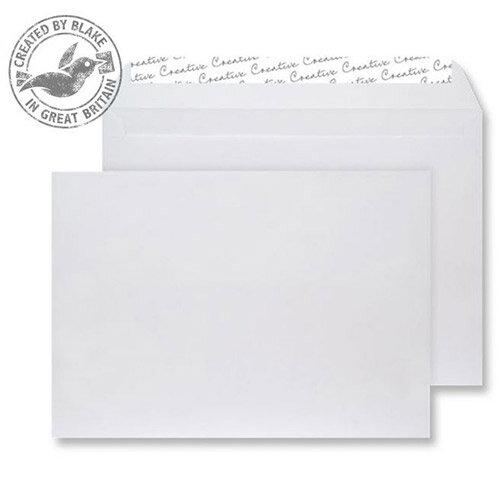 Creative Senses Wallet P& White Velvet 140gsm C5 162x229mm (Pack of 125)