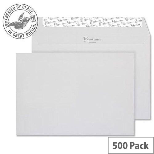 Blake Premium Business Wallet P& Diamond White Laid C5 120gsm (Pack of 500)