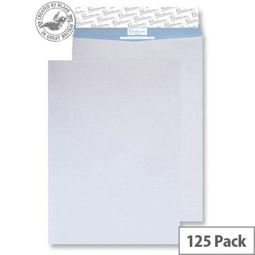 Blake Premium Secure White B4 Pocket Peel and Seal 352x250mm 125gsm Envelopes Pack of 125