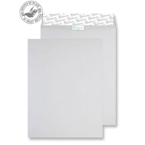 Blake Premium Envelopes Secure Pocket Peel and Seal White 394x305mm 125gsm Pack of 100