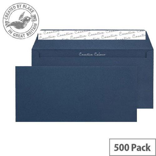 Creative Colour Oxford Blue DL+ Wallet Envelopes (Pack of 500)