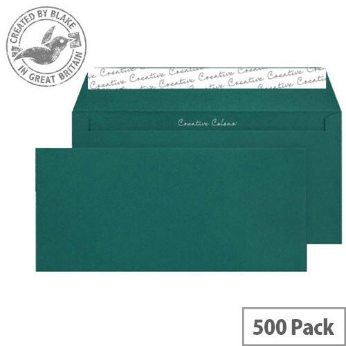 Creative Colour British Racing Green Wallet DL+ Envelopes (Pack of 500)