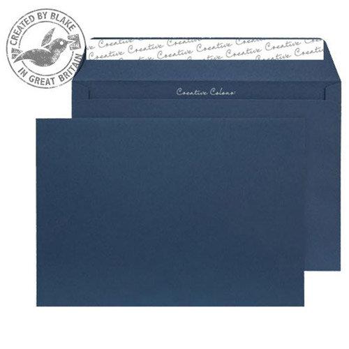 Creative Colour Oxford Blue Wallet C4 Envelopes (Pack 250)