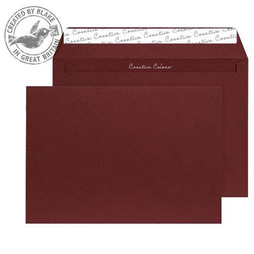 Creative Colour Bordeaux Wallet C4 Envelopes (Pack of 250)