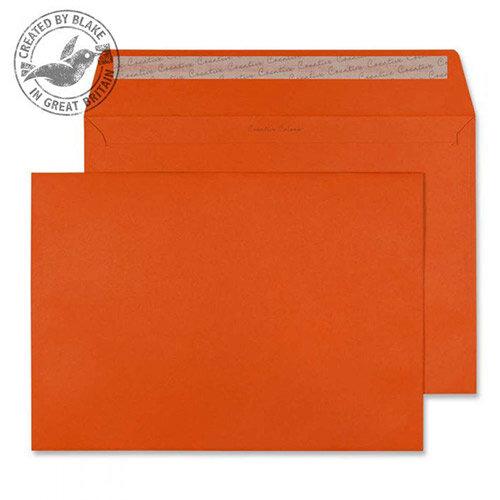 Creative Colour Marmalade Orange Wallet C4 Envelopes (Pack of 250)