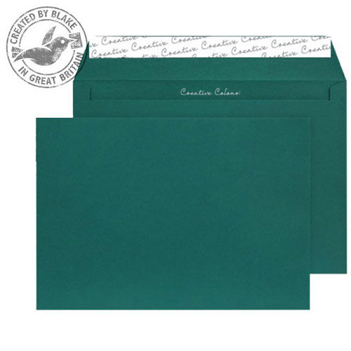 Creative Colour British Racing Green Wallet C5 Envelopes (Pack of 500)