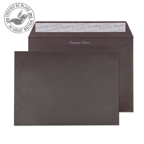 Creative Colour Brown Bitter Chocolate Wallet C5 Envelopes (Pack of 500)