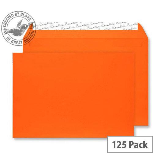 Creative Senses Wallet Orange Velvet C4 Envelopes (Pack of 125)
