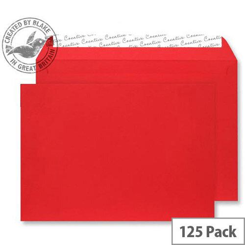 Creative Senses Wallet Red Velvet C4 Envelopes (Pack of 125)