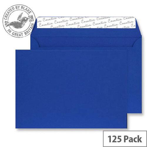 Creative Senses Blue Velvet C4 Wallet Envelopes (Pack of 125)