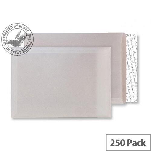 Creative Senses Translucent White C4 Pocket Envelopes Pack of 250)
