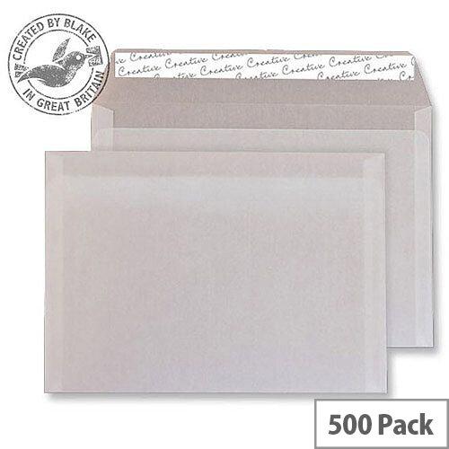 Creative Senses Wallet P& Translucent White 110gsm C5 162x229mm (Pack of  500)