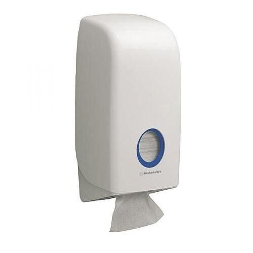 Kimberly-Clark Aquarius Bulk Pack Toilet Tissue Dispenser White 6975