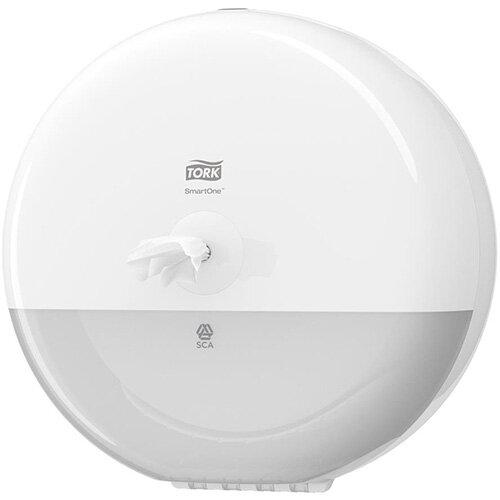Tork SmartOne Mini Toilet Roll Plastic Dispenser Ref 681000