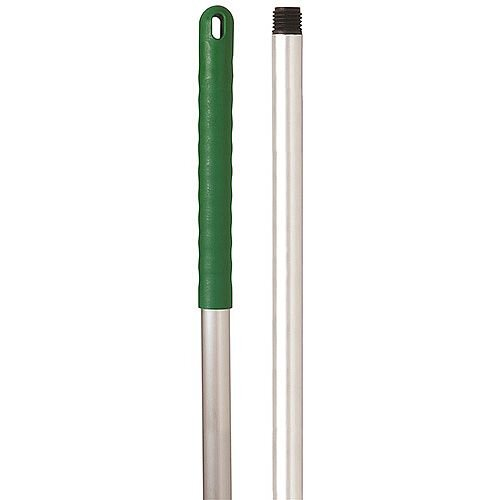 Robert Scott &Sons Abbey Hygiene Mop Handle Aluminium Colour-coded Screw Fitting 125cm Green Ref YYAG08