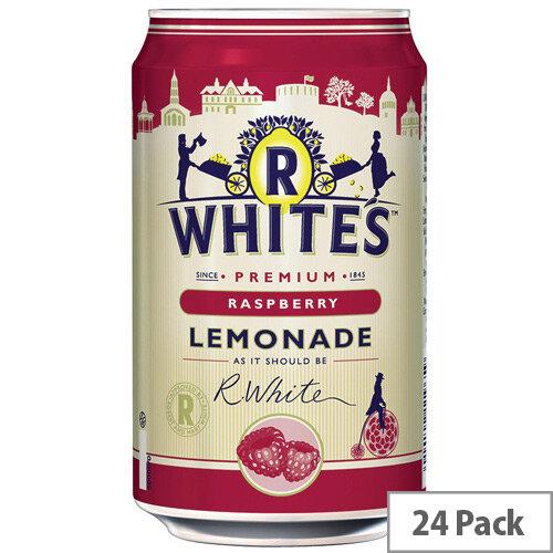 R-Whites 330ml Raspberry Drink Lemonade Pack of 24