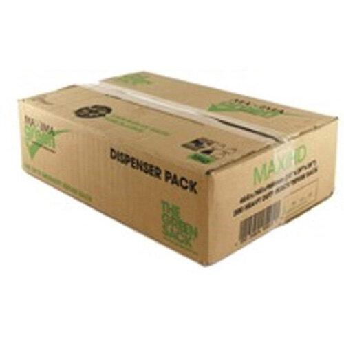 The Green Sack Refuse Sacks Heavy Duty 15kg Capacity Black Pack of 200