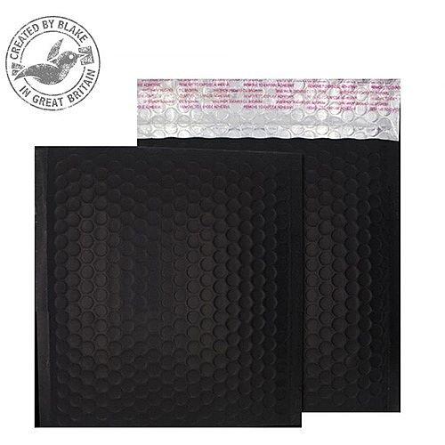 Purely Packaging Bubble Envelope P& CD Matt Metallic Charcoal Ref MTB450 [Pk100]