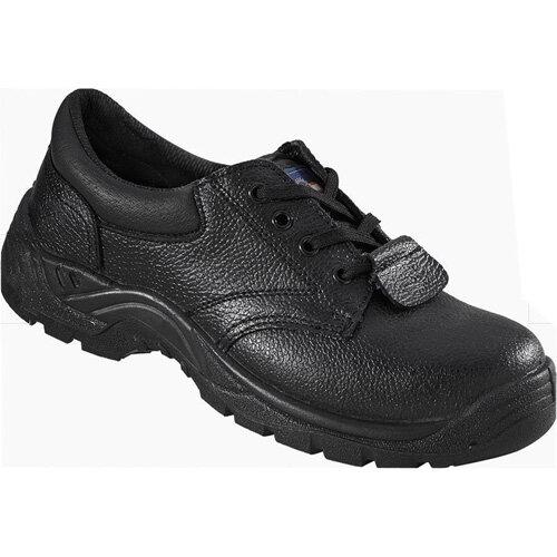 Rock Fall ProMan Chukka Shoe Size 6 Leather Steel Toecap Black