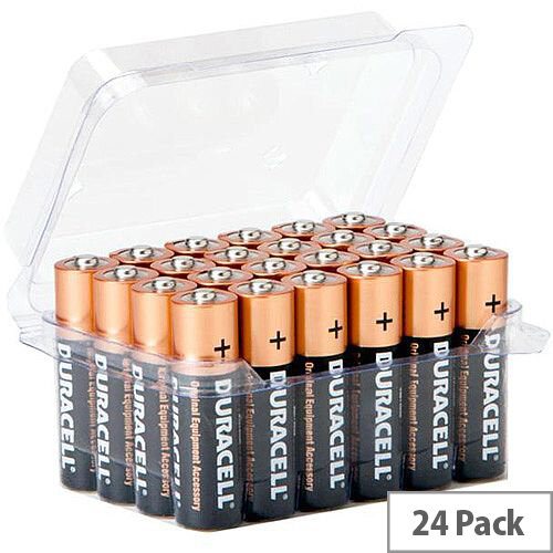 Duracell AA Alkaline Batteries Pack of 24