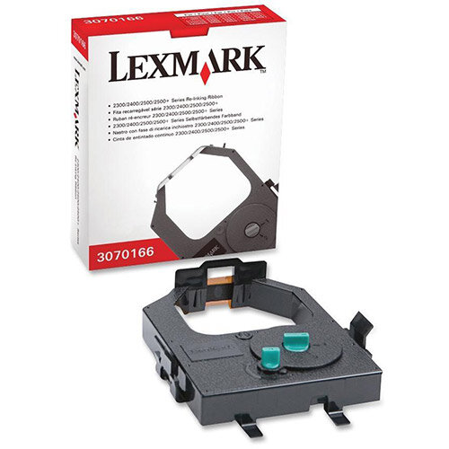 Lexmark 3070166 4,000,000 Characters Black Ink Ribbon Cartridge
