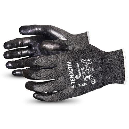 Superior Glove Tenactiv Filament Fibre Lev-5 Cut-Resist 11 Black Ref SUS18TAFGFN11