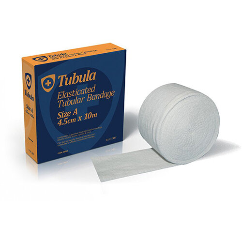 Click Medical Blue Dot 10m Tubular Bandage Size E White Ref CM0591