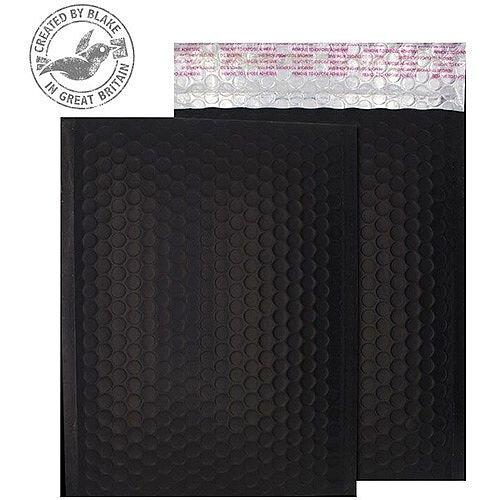 Purely Packaging Bubble Envelope P& C5+ Matt Metallic Charcoal RefMTB450 [Pk100]