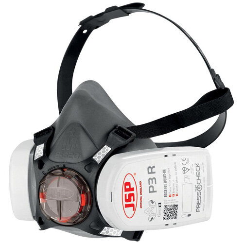 JSP Force 8 Half-Mask with Press to Check P3 Filters