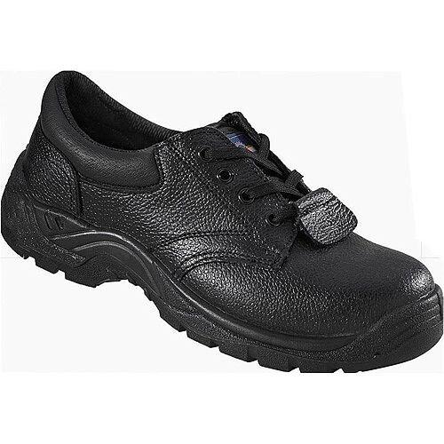 Rock Fall ProMan Chukka Shoe Size 9 Leather Steel Toecap Black