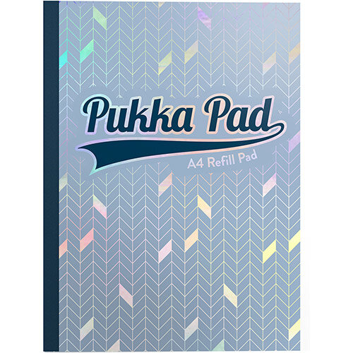 Pukka GLEE Refill Pad 400Pg 80gsm Sidebound A4 Light Blue Ref 8893GLE Pack of 5