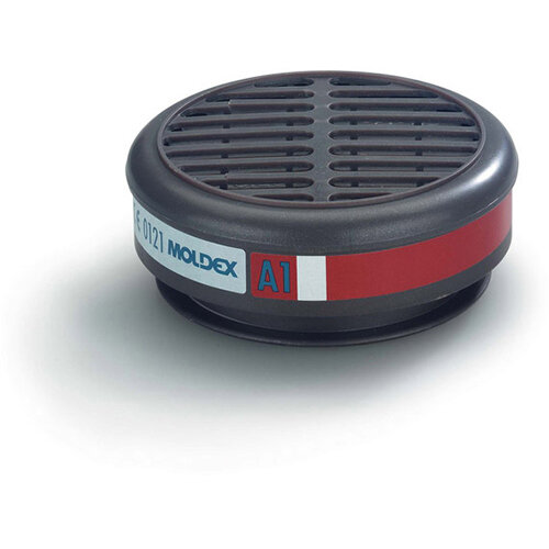 Moldex 8100 A1 Gas Filter Grey M8100 [5 Pairs]