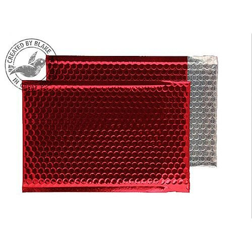 Purely Packaging Padded Envelope P& C5+ Metallic Red Ref MBR250 [Pk 100]