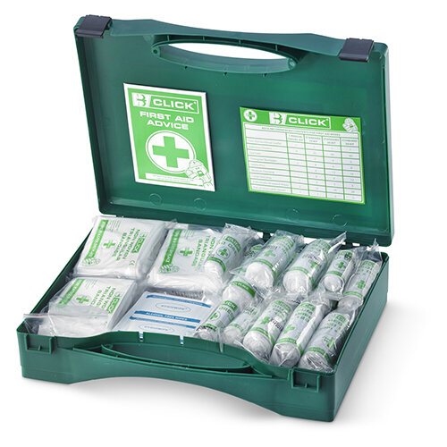 Click Medical 26 to 50 Person HSA Irish First Aid Kit Refill Ref CM0052