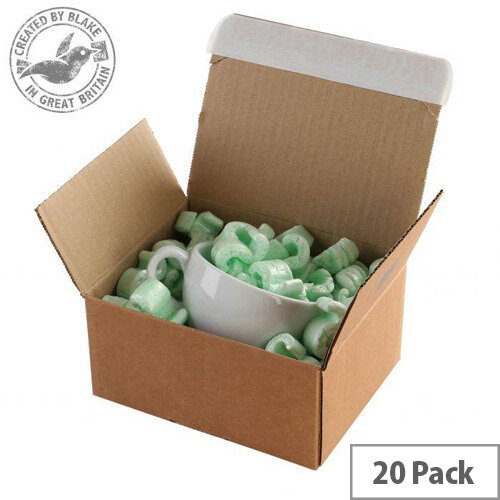 Blake Purely Packaging Peel and Seal 213mm x 153mm x 109mm Postal Box Kraft Pack of 20