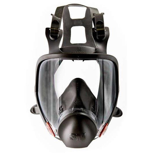 3M 6000 Series Full Face Mask Respirator Small Dark Grey