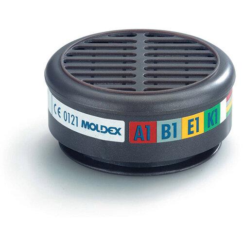 Moldex 8900 Abek1 Filter Grey Ref M8900 [5 Pairs]