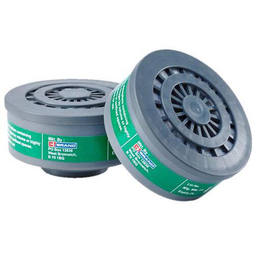 BBrand K1 Air Filter Grey for BB3000 Respirators Pair Ref BB3000K1