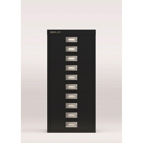 Bisley SoHo Multi-Drawers 10-Drawer 51mm Drawer Height Black