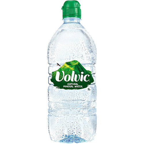 Volvic Natural Mineral Water Still Bottle Plastic 1 Litre Ref 144900 Pack 12
