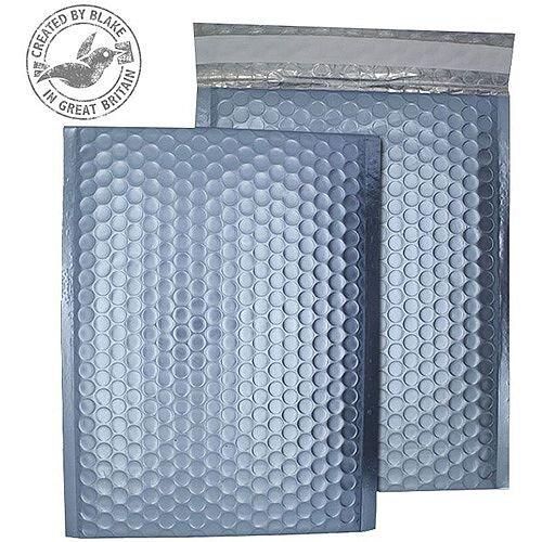 Purely Packaging Bubble Envelope P& C5+ Metallic IceBlue Ref MTIB250 [Pk 100]