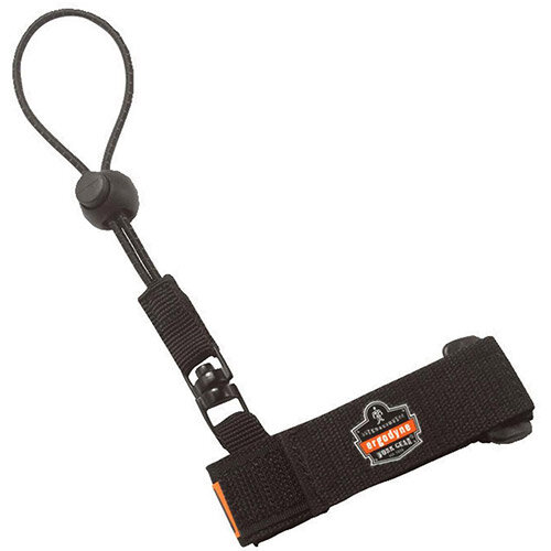 Ergodyne Squids 3115 Wrist Tool Lanyard Small/Medium Black