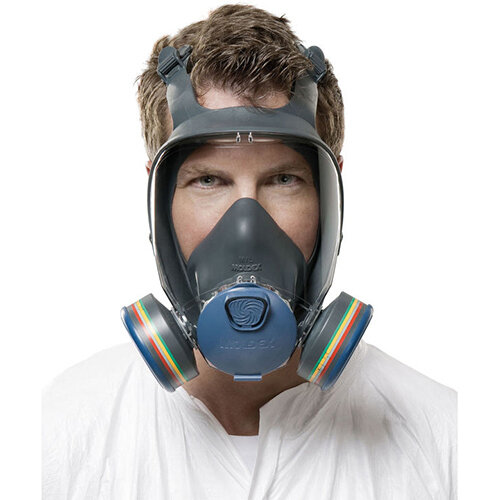 Moldex 9000 Full Face Mask Lightweight Peripheral Vision Medium Grey Ref M9002