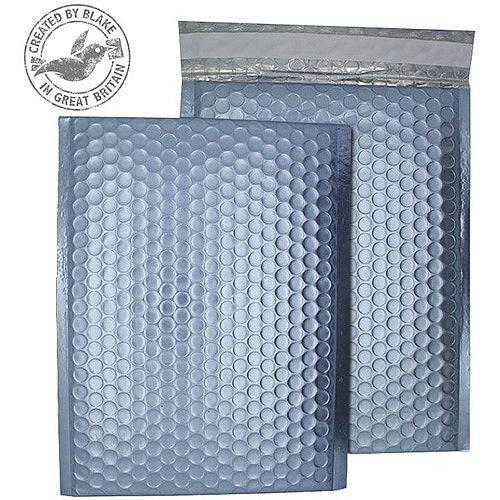 Purely Packaging Bubble Envelope P& C4 Metallic IceBlue Ref MTIB324 [Pk 100]